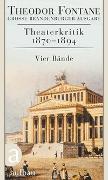 Cover-Bild zu Theaterkritik 1870-1894