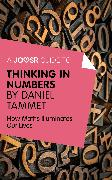 Cover-Bild zu A Joosr Guide to... Thinking in Numbers (eBook) von Tammet, Daniel