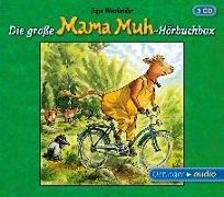 Cover-Bild zu Die große Mama Muh-Hörbuchbox von Wieslander, Jujja