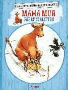 Cover-Bild zu Mama Muh fährt Schlitten von Wieslander, Jujja