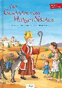 Cover-Bild zu Die Geschichte vom Heiligen Nikolaus von Heitmann, Michaela (Illustr.)