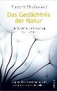 Cover-Bild zu Das Gedächtnis der Natur von Sheldrake, Rupert