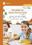 Cover-Bild zu Portfolio im Deutschunterricht 1.-4. Klasse von Stechbart, Annette