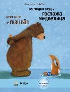 Cover-Bild zu Kempter, Christa: Herr Hase & Frau Bär. Kinderbuch Deutsch-Russisch