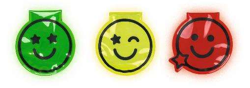 Cover-Bild zu Magnet Clips mit LED Smile