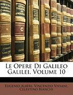 Cover-Bild zu Le Opere Di Galileo Galilei, Volume 10