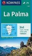 Cover-Bild zu KOMPASS Wanderkarte La Palma. 1:50'000