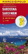 Cover-Bild zu Italien Blatt 15 Sardinien. 1:200'000