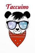 Cover-Bild zu Taccuino: Orso Panda - Quaderno - Per I Miei Pensieri: Il Diario Diario Speciale Registrato - Quaderno - Schizzi - Libro Bianco
