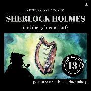 Cover-Bild zu eBook Sherlock Holmes und die goldene Harfe