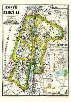 Cover-Bild zu Historische Karte von PALÄSTINA 1869 (Plano)