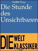 Cover-Bild zu eBook Die Stunde des Unsichtbaren
