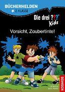Cover-Bild zu Die drei ??? Kids, Bücherhelden 2. Klasse, Vorsicht, Zaubertinte!