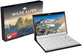 Cover-Bild zu Wilde Alpen Tischkalender 2022