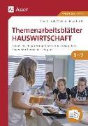 Cover-Bild zu Themenarbeitsblätter Hauswirtschaft 5-7 von Troll, Christa