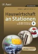 Cover-Bild zu Hauswirtschaft an Stationen von Hartl, Michaela