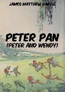 Cover-Bild zu Barrie, James Matthew: Peter Pan (Peter and Wendy) (eBook)