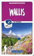 Cover-Bild zu Hallwag Kümmerly+Frey AG (Hrsg.): Wallis Wanderführer