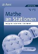 Cover-Bild zu Mathe an Stationen. Umgang mit dem Geobrett in der Sekundarstufe I von Bettner, Marco
