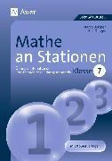 Cover-Bild zu Mathe an Stationen 7 von Bettner, Marco
