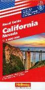 Cover-Bild zu California, Nevada Strassenkarte 1:1 Mio., Road Guide Nr. 5. 1:1'000'000