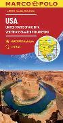 Cover-Bild zu MARCO POLO Kontinentalkarte USA 1:4 000 000. 1:4'000'000
