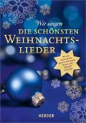 Cover-Bild zu Wir singen die schönsten Weihnachtslieder