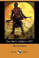 Cover-Bild zu Dos Passos, John: One Man's Initiationa1917 (Dodo Press)