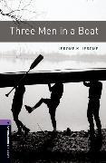 Cover-Bild zu Oxford Bookworms Library: Level 4:: Three Men in a Boat von Jerome, Jerome K.