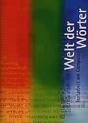 Cover-Bild zu Welt der Wörter. Lehrmittel für höhere Anforderungen / Welt der Wörter 1-3, Arbeitsheft von Flückiger, Walter