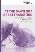 Cover-Bild zu At the Dawn of a Great Transition von Blackford, Russell