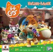 Cover-Bild zu 44 Cats. Katzen-Musik