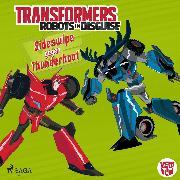 Cover-Bild zu eBook Transformers - Robots in Disguise - Sideswipe gegen Thunderhoof