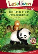 Cover-Bild zu Leselöwen 1. Klasse - Ein Panda in der Dschungelschule von Richert, Katja