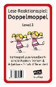 Cover-Bild zu Lese-Reaktionsspiel: Doppelmoppel Level 2 von Pufendorf, Christine von