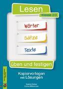 Cover-Bild zu Lesen üben und festigen - Klasse 2/3 von Kistner, Saskia