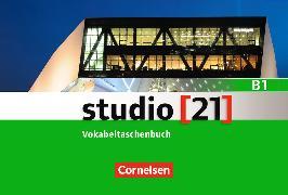 Cover-Bild zu Funk, Hermann (Hrsg.): studio 21 B1. Gesamtband. Vokabeltaschenbuch