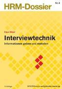 Cover-Bild zu Interviewtechnik von Mégel, Edgar