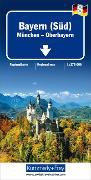 Cover-Bild zu Hallwag Kümmerly+Frey AG (Hrsg.): Bayern Süd - München Oberbayern, Nr. 8. 1:275'000