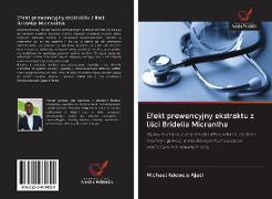 Cover-Bild zu Efekt prewencyjny ekstraktu z lisci Bridelia Micrantha