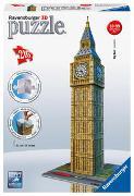 Cover-Bild zu Ravensburger 3D Puzzle 12554 - Big Ben - 216 Teile - Der weltbekannte Uhrenturm aus London zum selber Puzzeln ab 8 Jahren