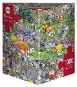 Cover-Bild zu Cycle Race Puzzle