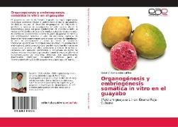 Cover-Bild zu Organogénesis y embriogénesis somática in vitro en el guayabo