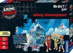 Cover-Bild zu Krimi-Puzzle: Die drei ??? Kids 150 Teile - Achtung, Meeresungeheuer!