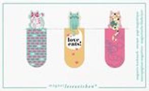 Cover-Bild zu Magnetlesezeichen Love Cats