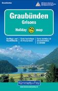 Cover-Bild zu Graubünden Holiday Map. 1:120'000