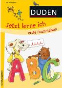 Cover-Bild zu Holzwarth-Raether, Ulrike: Jetzt lerne ich erste Buchstaben (ab 4)