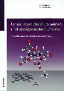 Cover-Bild zu Grundlagen der allgemeinen und anorganischen Chemie