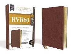 Cover-Bild zu RVR60 Santa Biblia Serie 50 Letra Grande, Tamaño Manual, Leathersoft, Café