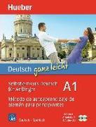 Cover-Bild zu Luscher, Renate: Deutsch ganz leicht A1. Spanisch